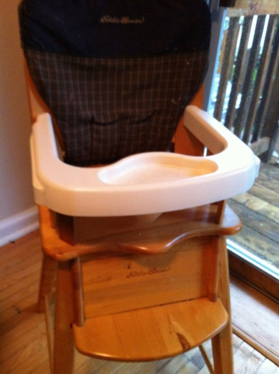 Swapsity Items Highchair Eddie Bauer Wooden Multistage
